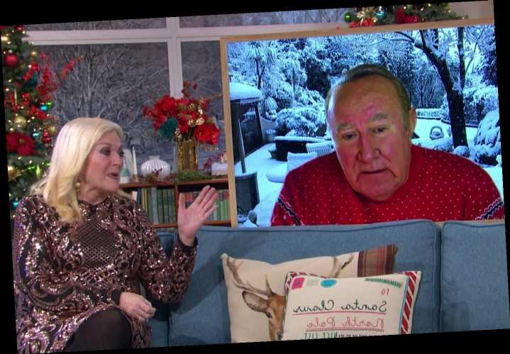 This Morning stars ridicule Christmas advice to put Gran outside and eat turkey in cold saying people are 'despairing'