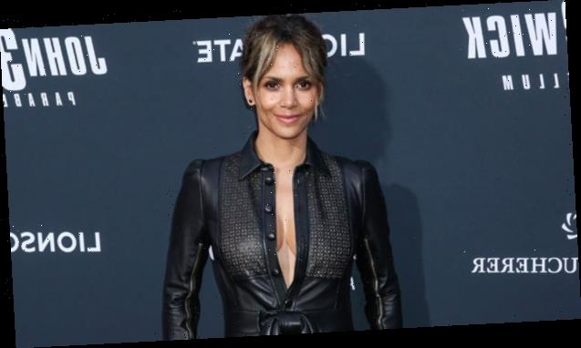 Halle Berry, 54, Proudly Supports Her Boyfriend Van Hunt By Wearing His T-Shirt — See Sexy Pic