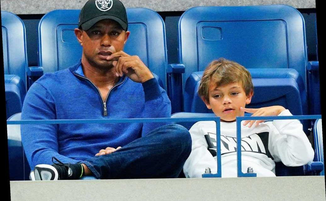Family Affair! Tiger Woods and Son Charlie, 11, Have Father-Son Caddie Duo for PNC Championship