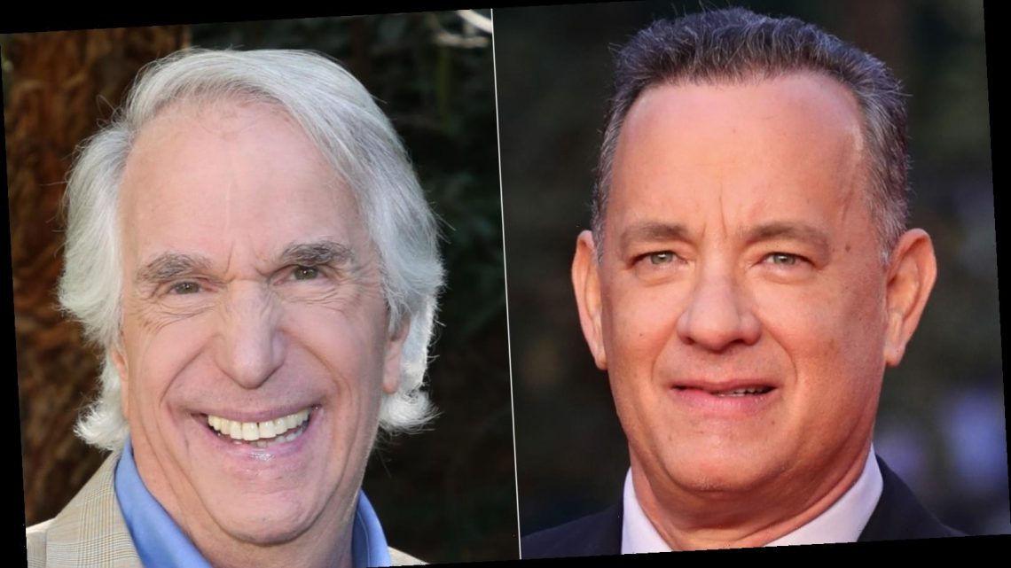 The Truth About Tom Hanks And Henry Winkler's Rumored Feud