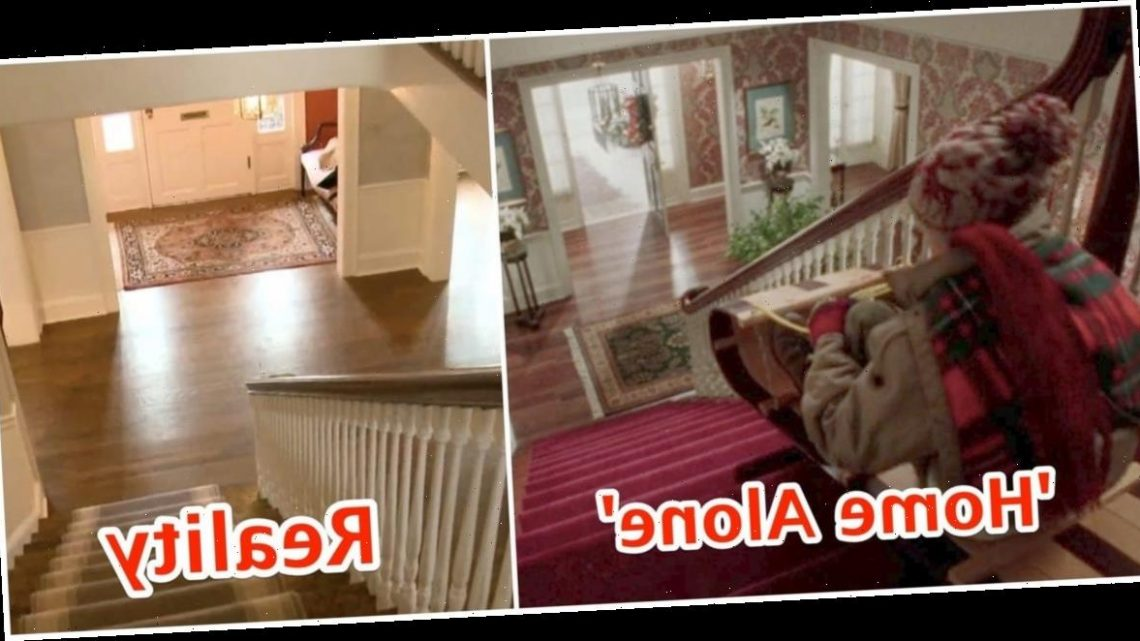 Photos show what the 'Home Alone' house looks like in real life