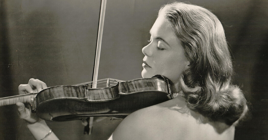 Camilla Wicks, Dazzling Violinist From a Young Age, Dies at 92