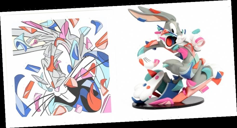 "Louis de Guzman Teams up With Bugs Bunny for New ""A Wild Hare"" Figure and Print"
