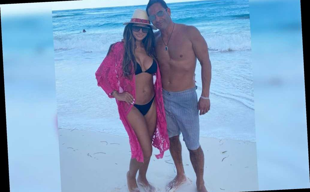 Teresa Giudice hits the beach in a bikini with boyfriend Luis Ruelas