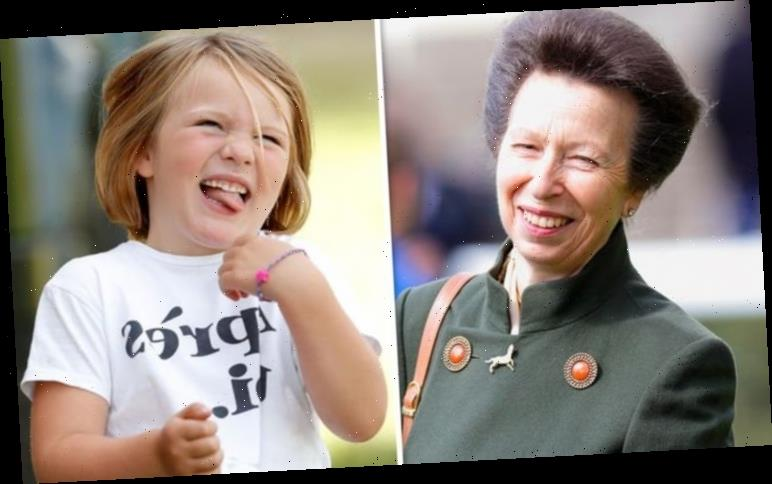 Princess Anne and Mia Tindall: Anne 'doting' over Zara's Tindall's daughter in pictures