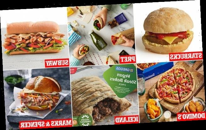 All the shops, restaurants and products going vegan this January