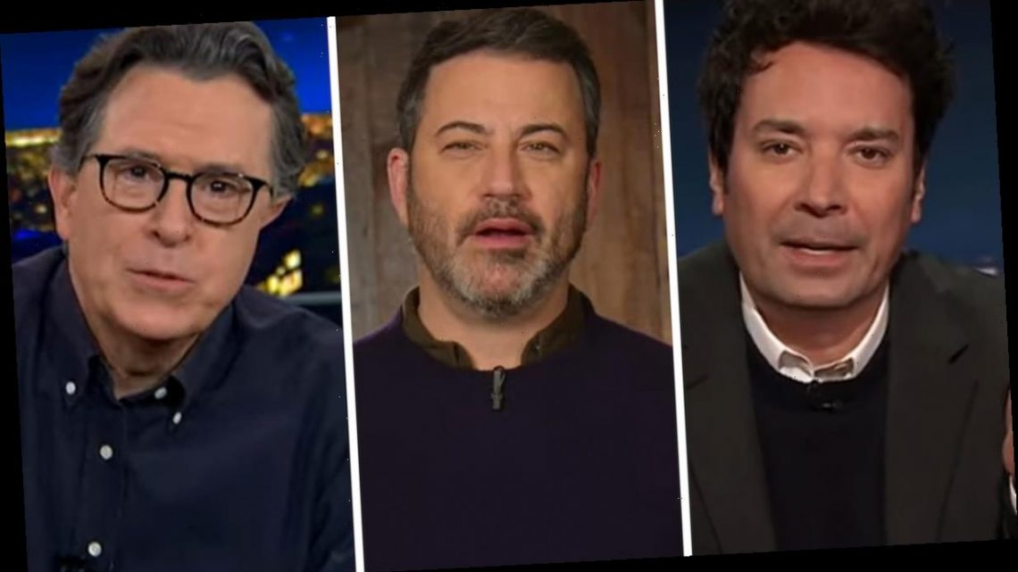 Late Night Hosts React to Violence In U.S. Capitol, Slam Trump and His Enablers