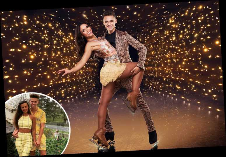 Dancing On Ice's Joe Warren-Plant says 'chemistry' with pro Vanessa Bauer led to split from girlfriend Nicole