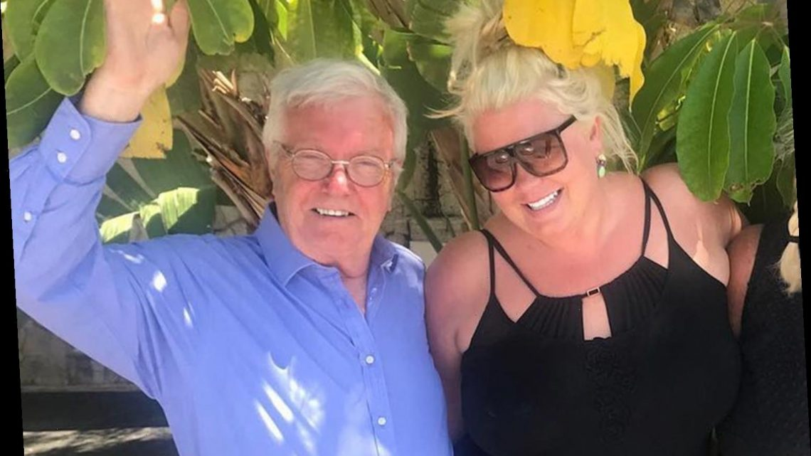 Gemma Collins says her dad is 'literally fighting for his life' in hospital amid coronavirus battle
