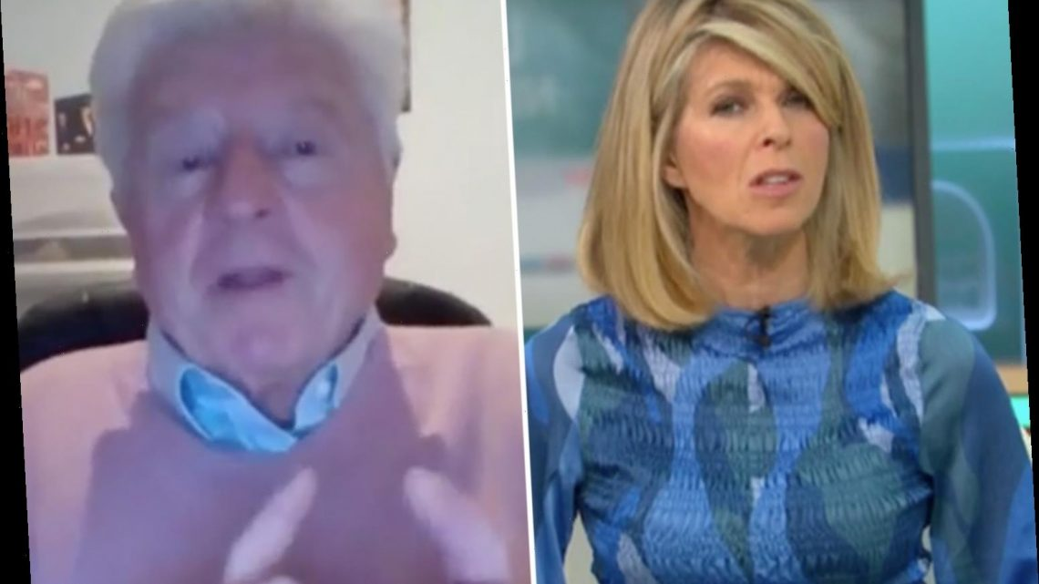 Kate Garraway left fuming as Boris Johnson's dad says getting second vaccine jab gives him 'get out of jail free card'