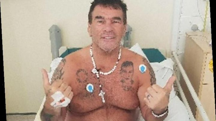 Paddy Doherty reveals doctors told him he was 'hours from death' after falling ill with coronavirus