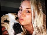 The Big Bang Theory's Kaley Cuoco says she's 'run out of tears' following her dog Norman's death