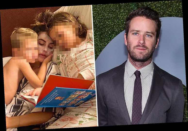 Armie Hammer is hunkering down in Cayman Islands during 'cannibal sex DMs' scandal and refuses to see family