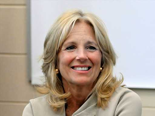 First Lady Jill Biden is Thanking the National Guard & Paying Tribute to Late Son Beau