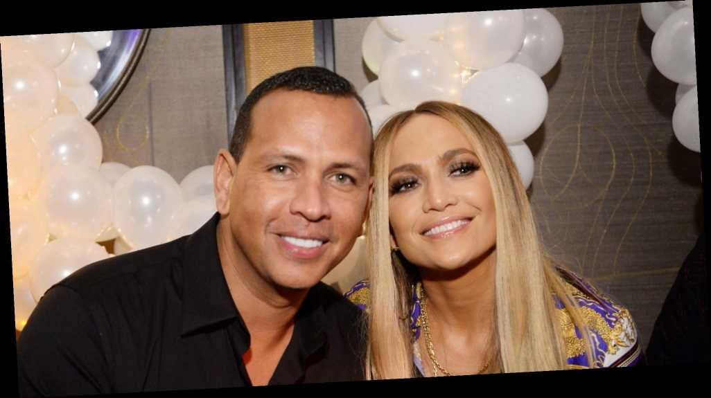 Of Course Alex Rodriguez Uses JLo Beauty Products