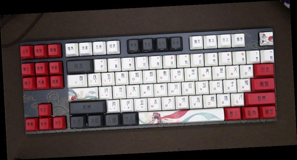 """Varmilo Readies for the Lunar New Year With """"Beijing Opera"""" Keyboard"""