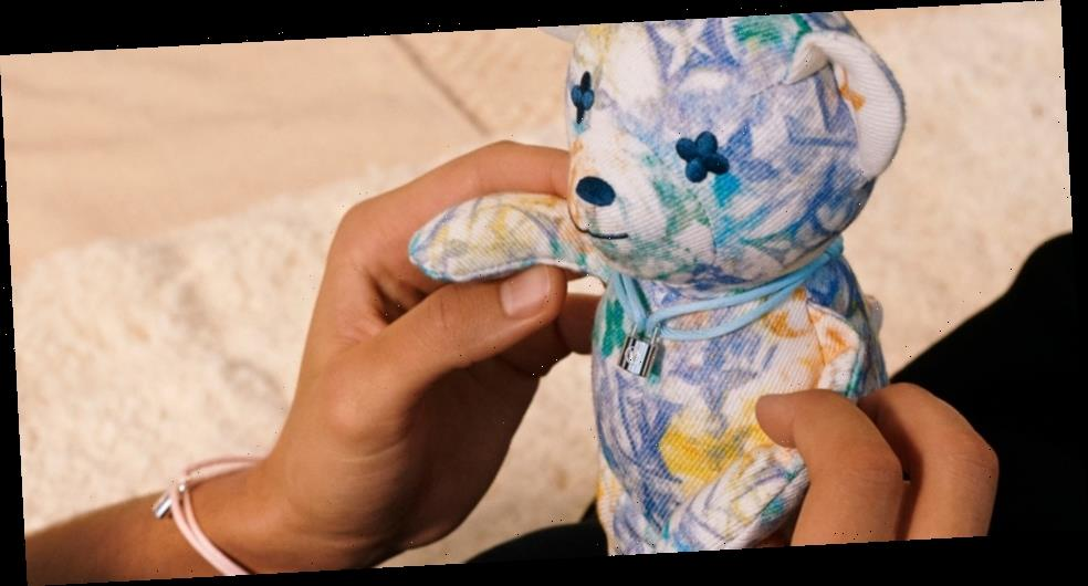 Louis Vuitton for UNICEF Includes a New Silver Lockit Bracelet and Doudou Louis Teddy Bear