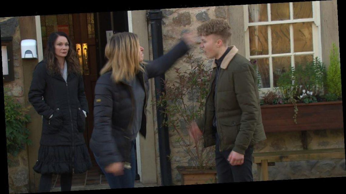 Emmerdale's Charity goes off deep end as she slaps Noah and betrays Debbie
