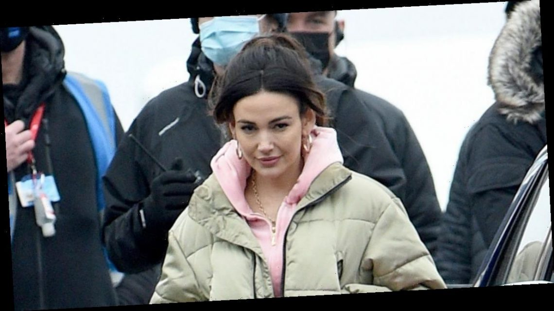 Michelle Keegan channels Coronation Street's Tina McIntyre on set of Brassic – copy her nostalgic look here