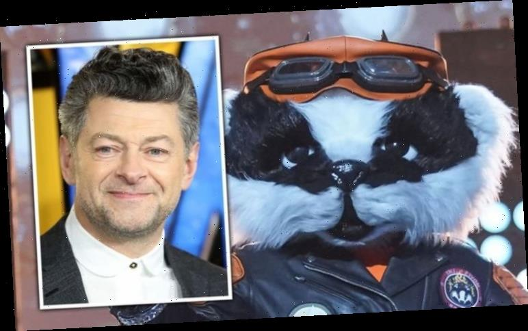 The Masked Singer: Badger 'exposed' as Andy Serkis after 'green screen' clue