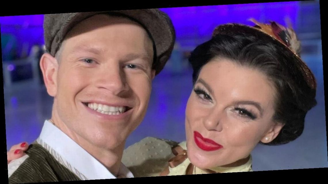 Faye Brookes gushes over Dancing on Ice partner Hamish Gaman as he drops out