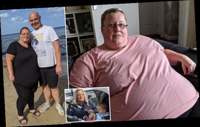 Shut Ins:Britain's Fattest People:Mum who weighed 30st sheds 8st