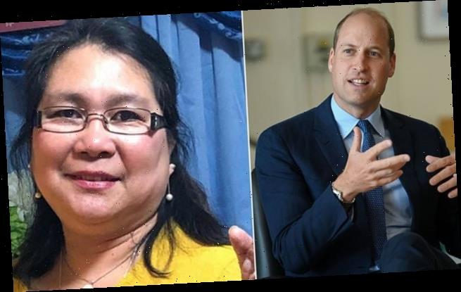 Prince William offers condolences after nurse dies from Covid-19