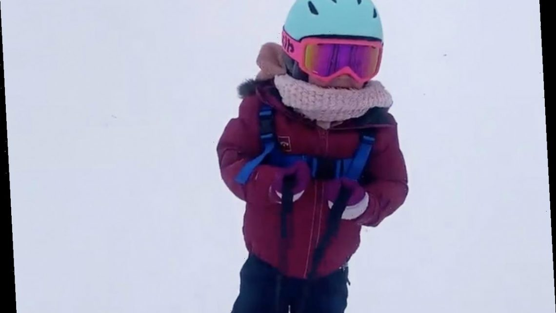 Little People's Audrey Roloff slammed for skiing with daughter Ember, 3, in big snowstorm despite mountain closures