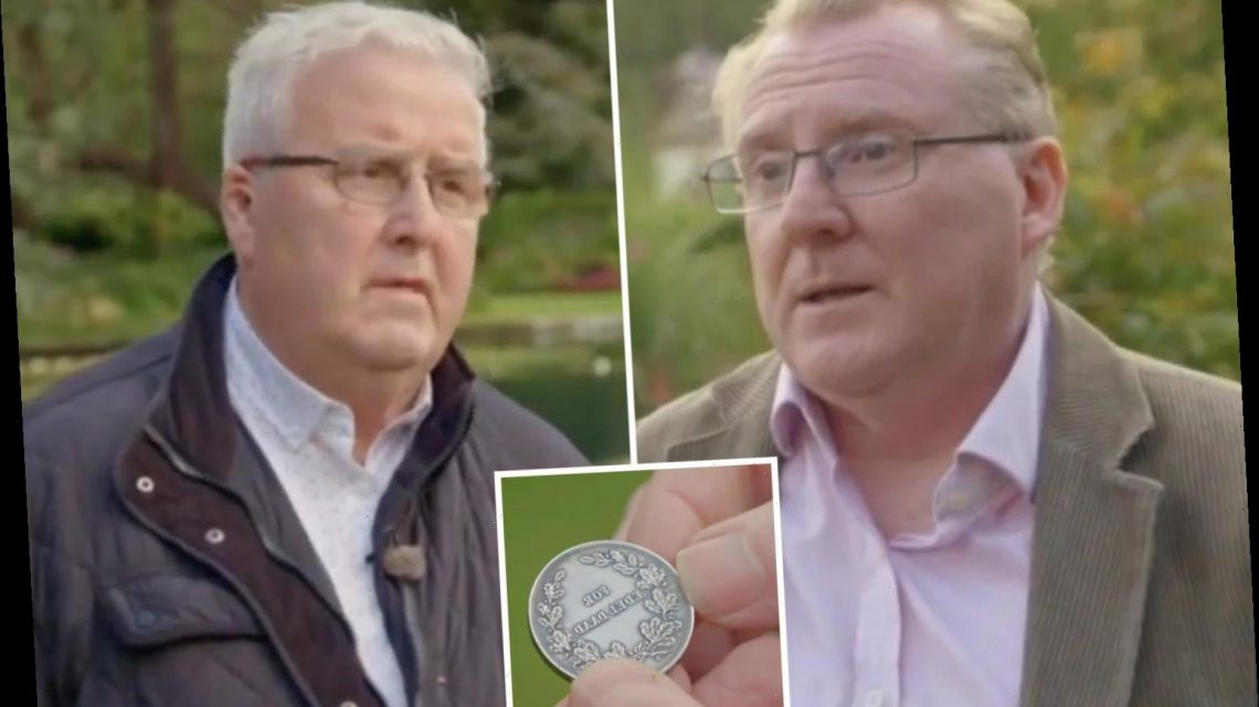 Antiques Roadshow guest takes swipe at expert as he insists medal is 'worth more' than valuation