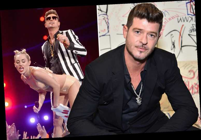Robin Thicke admits to past painkiller and alcohol abuse after 'whirlwind of fame' and says 'I was in a bad place'