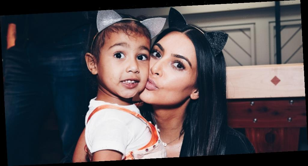 Kim Kardashian Reacts to People Questioning North West's Painting