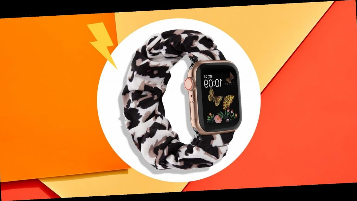 This Scrunchie Apple Watch Band On Amazon Won't Dig Into Your Wrist