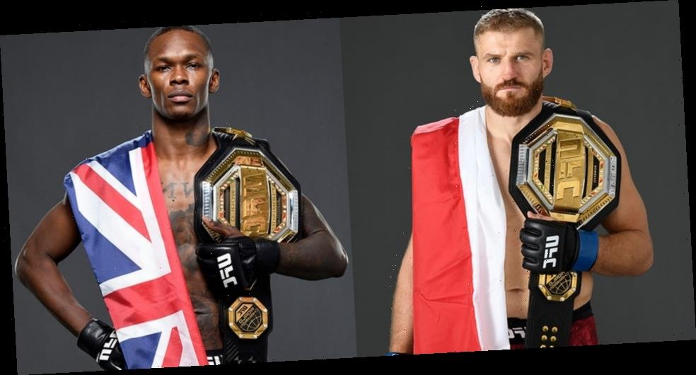UFC Releases Countdown Feature for Jan Błachowicz vs. Israel Adesanya