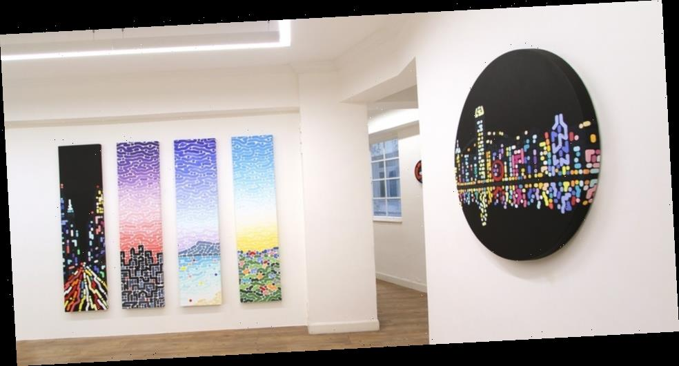 """Yoon Hyup Crafts New Abstract Paintings """"While You Sleep"""""""