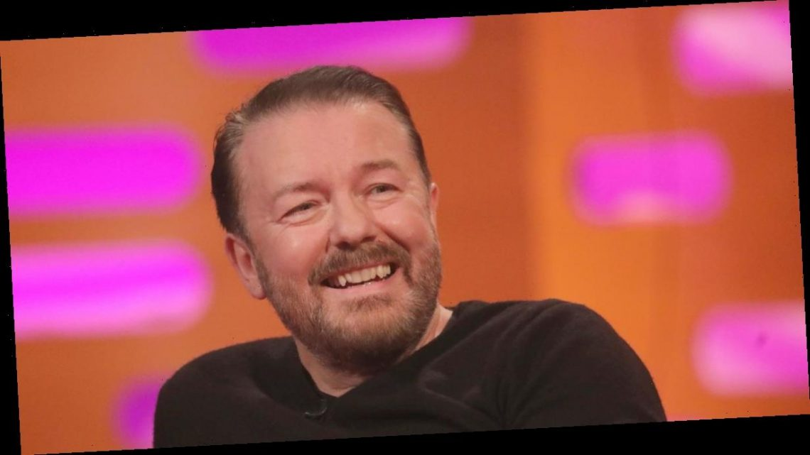 Ricky Gervais says he's only worn underpants twice in the last year in lockdown
