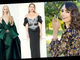 Lily Collins, Kate Hudson and Anya Taylor-Joy  attend Globes from home