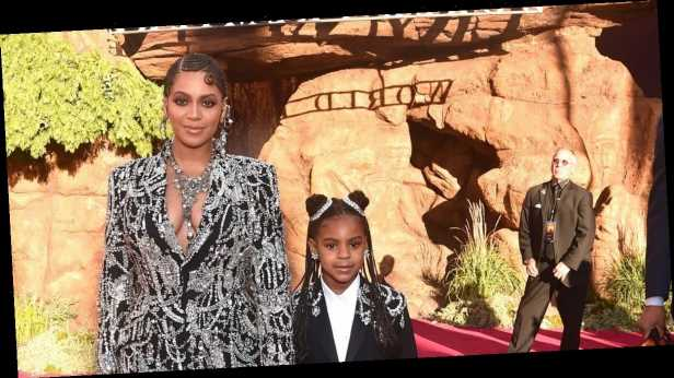 Beyonce shares adorable snap of Blue Ivy, nine, drinking from her first Grammy