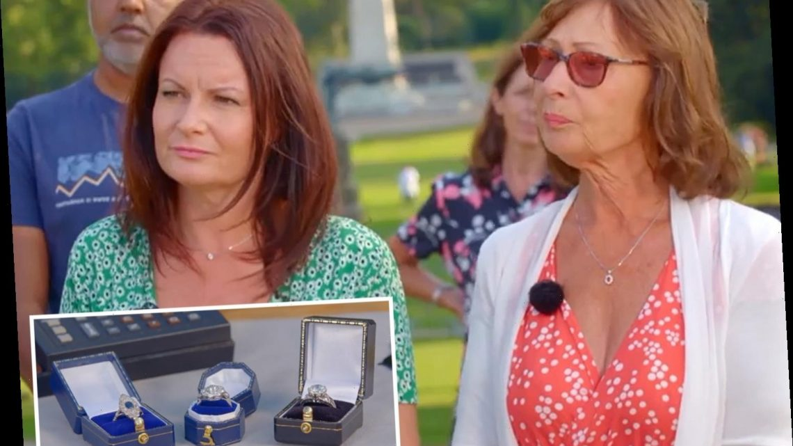 Set of rings won in pub raffle gets eye-watering value on Antiques Roadshow – leaving owner lost for words