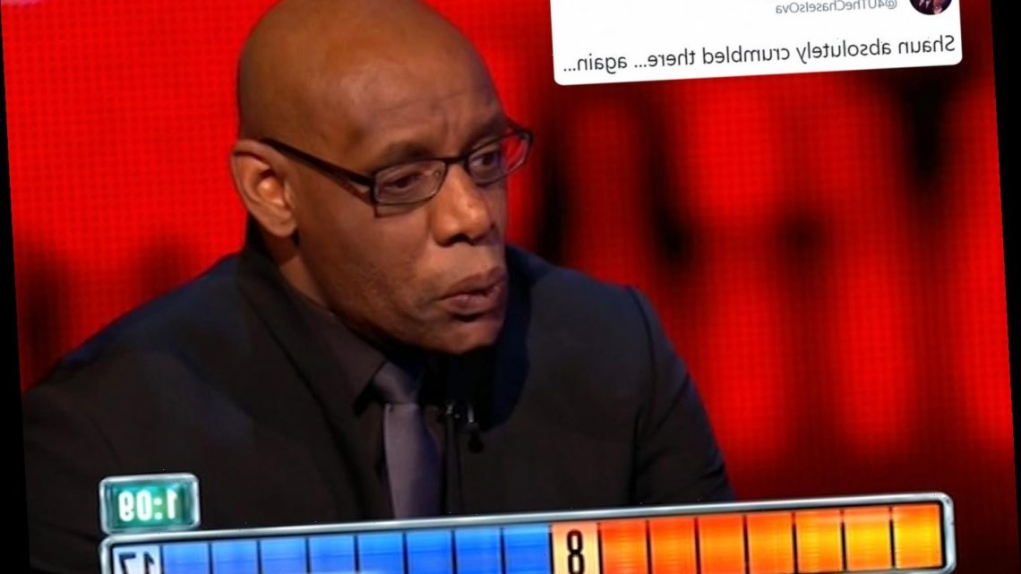 The Chase viewers call for Shaun Wallace to 'quit and retire' after 'crumbling' with three blunders in tense final round