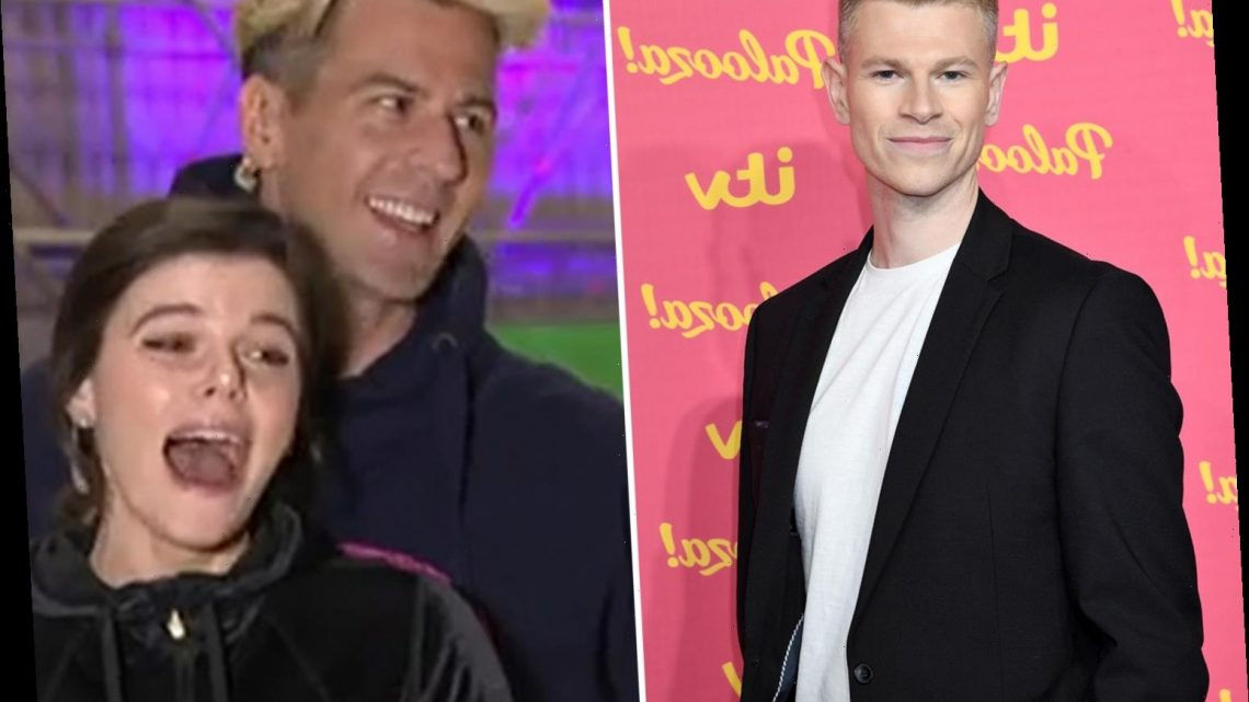 Dancing On Ice's Faye Brookes left speechless as she's accused of 'breaking' Hamish – insisting she 'wasn't involved'