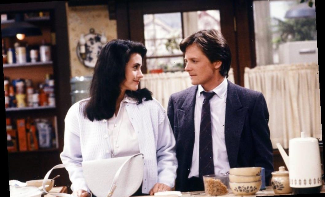 'Family Ties': Michael J. Fox and Courteney Cox Were Accused of Dating Off-Screen