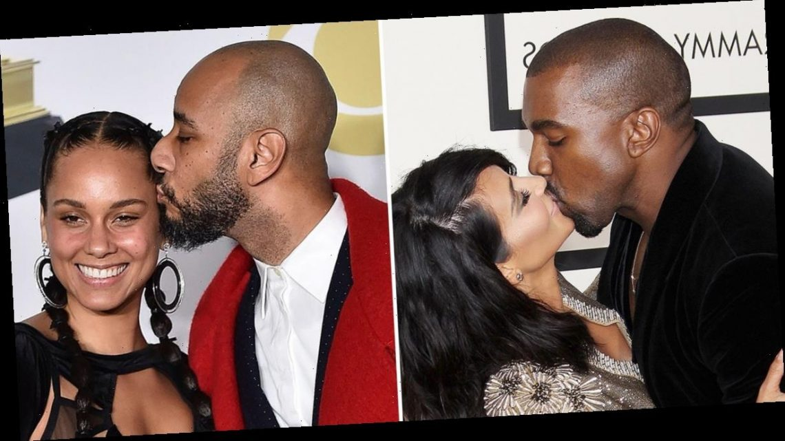 Celebrity PDA at the Grammy Awards Through the Years