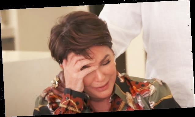 Kris Jenner Breaks Down In Tears Over 'KUWTK' Ending: 'It's Just Hard' — Watch