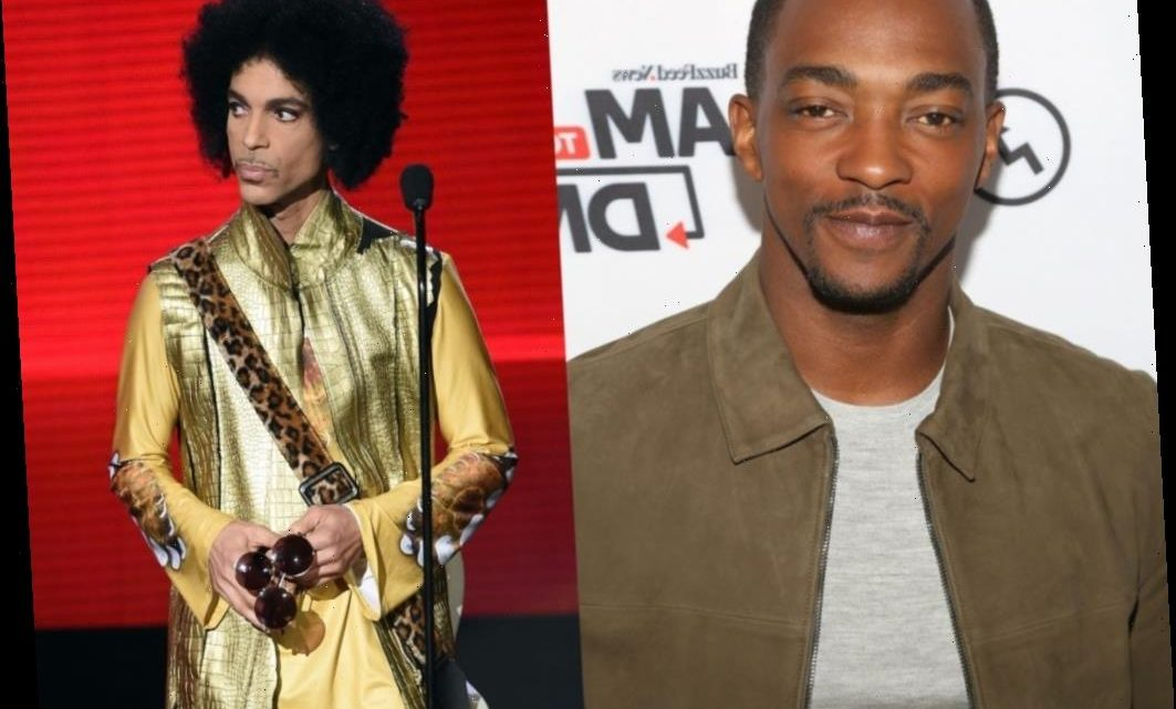 Anthony Mackie Tried to Sneak Into Prince's Party and It Did Not End Well
