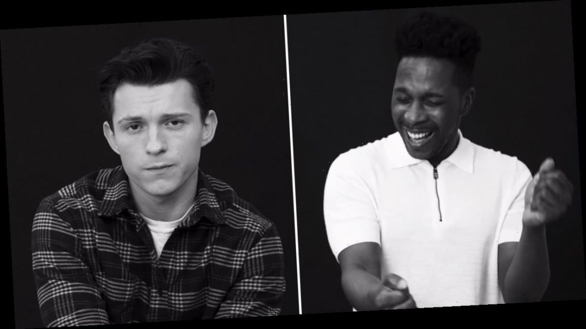 """This Video of Leslie Odom Jr., Tom Holland, and More Singing """"Dynamite"""" Is Our Gift to You"""