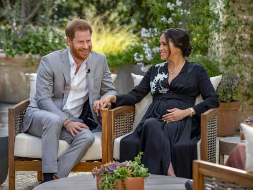 Prince Harry's Visible Anxiety on Oprah Shows How His Relationship With Meghan Markle Has Changed