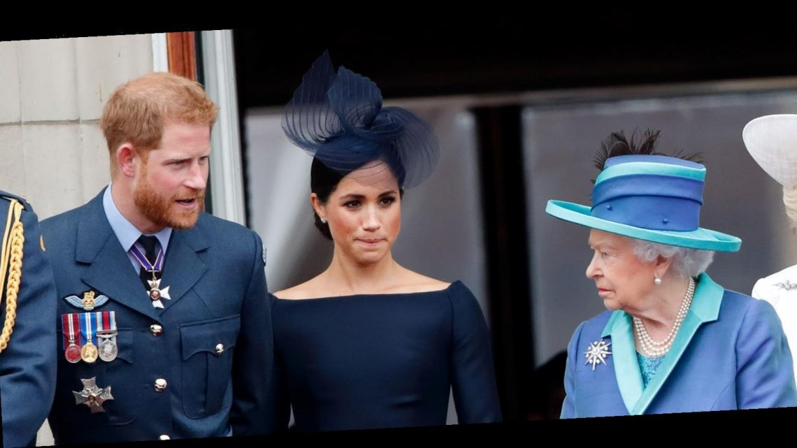 """It's Been Revealed That Part of the Queen's Recent Statement Was an """"Underlying Jab"""" at the Sussexes"""
