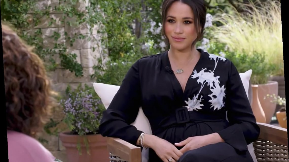 Meghan Markle Says She Went Into Royal Life 'Naively' in Oprah Interview
