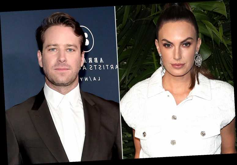 Elizabeth Chambers Once 'Found Evidence' Armie Hammer Had Affair with Costar: Report
