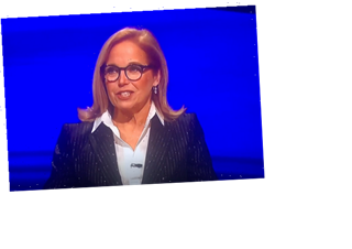Jeopardy! Guest Host Katie Couric Warns 'She's Gonna Be Upset' When All 3 Contestants Fail to ID Glee Actress